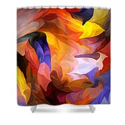 Abstract 050312 Shower Curtain