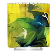 Abstract 052912 Shower Curtain