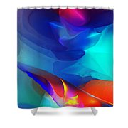 Abstract 060312 Shower Curtain