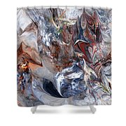Abstract 060412 Shower Curtain