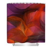 Abstract 071812 Shower Curtain