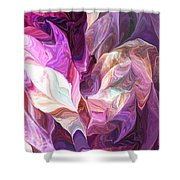 Abstract 072512 Shower Curtain