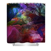 Abstract 072812 Shower Curtain