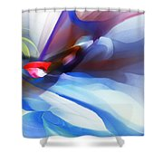 Abstract 081712 Shower Curtain