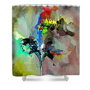 Abstract 082412-1 Shower Curtain