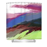 Abstract 082511 Shower Curtain