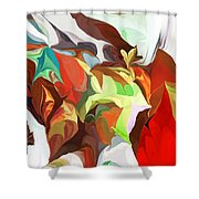 Abstract 090112 Shower Curtain
