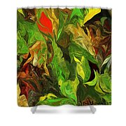 Abstract 090512a Shower Curtain