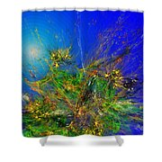 Abstract 090811 Shower Curtain