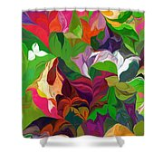 Abstract 090912 Shower Curtain