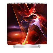 Abstract 091011 Shower Curtain