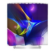 Abstract 091612 Shower Curtain