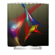 Abstract 091612a Shower Curtain