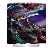 abstract 092111A Shower Curtain
