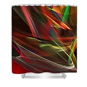 Abstract 092611 Shower Curtain