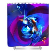 Abstract 092612 Shower Curtain