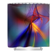 Abstract 101211 Shower Curtain