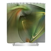 Abstract 101311f Shower Curtain