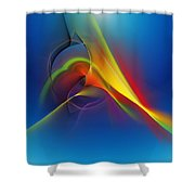 Abstract 101711 Shower Curtain