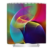 Abstract 102511 Shower Curtain