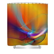 Abstract 110211 Shower Curtain