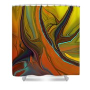 Abstract 110311 Shower Curtain