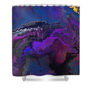 Abstract 112711a Shower Curtain