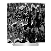 Abstract 13b Shower Curtain