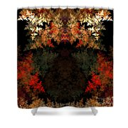 Abstract 178 Shower Curtain