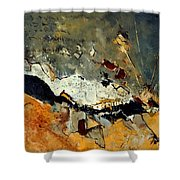 Abstract 1811014 Shower Curtain