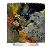 Abstract 181121 Shower Curtain
