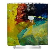 Abstract 1811804 Shower Curtain