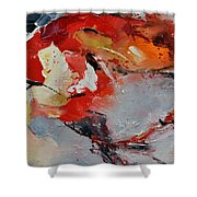 Abstract 1852321 Shower Curtain