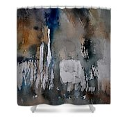 Abstract 213030 Shower Curtain