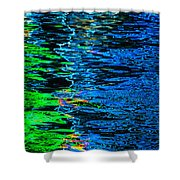 Abstract 262 Shower Curtain