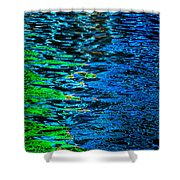 Abstract 265 Shower Curtain