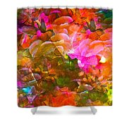 Abstract 271 Shower Curtain