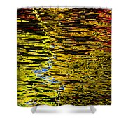 Abstract 301 Shower Curtain