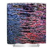 Abstract 367 Shower Curtain