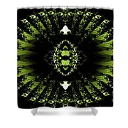 Abstract 38 Shower Curtain