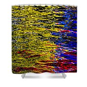 Abstract 398 Shower Curtain
