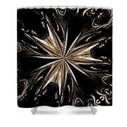 Abstract 45 Shower Curtain