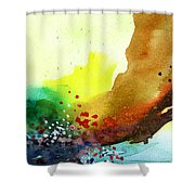 Abstract 5 Shower Curtain by Anil Nene