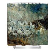 Abstract 66210101 Shower Curtain
