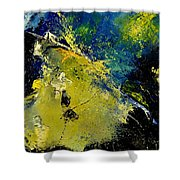 Abstract 66217090 Shower Curtain