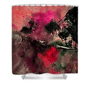 Abstract 69210102 Shower Curtain