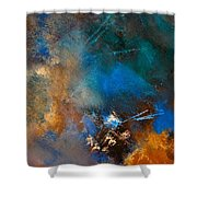 Abstract 69210151 Shower Curtain