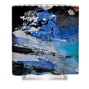 Abstract 69211050 Shower Curtain
