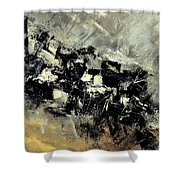 Abstract 69211120 Shower Curtain
