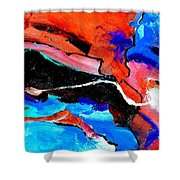 Abstract 69212022 Shower Curtain